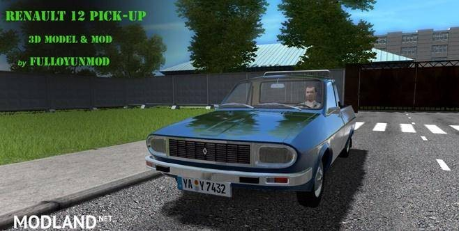 Renault 12 Pick-Up Mod [1.5.9]